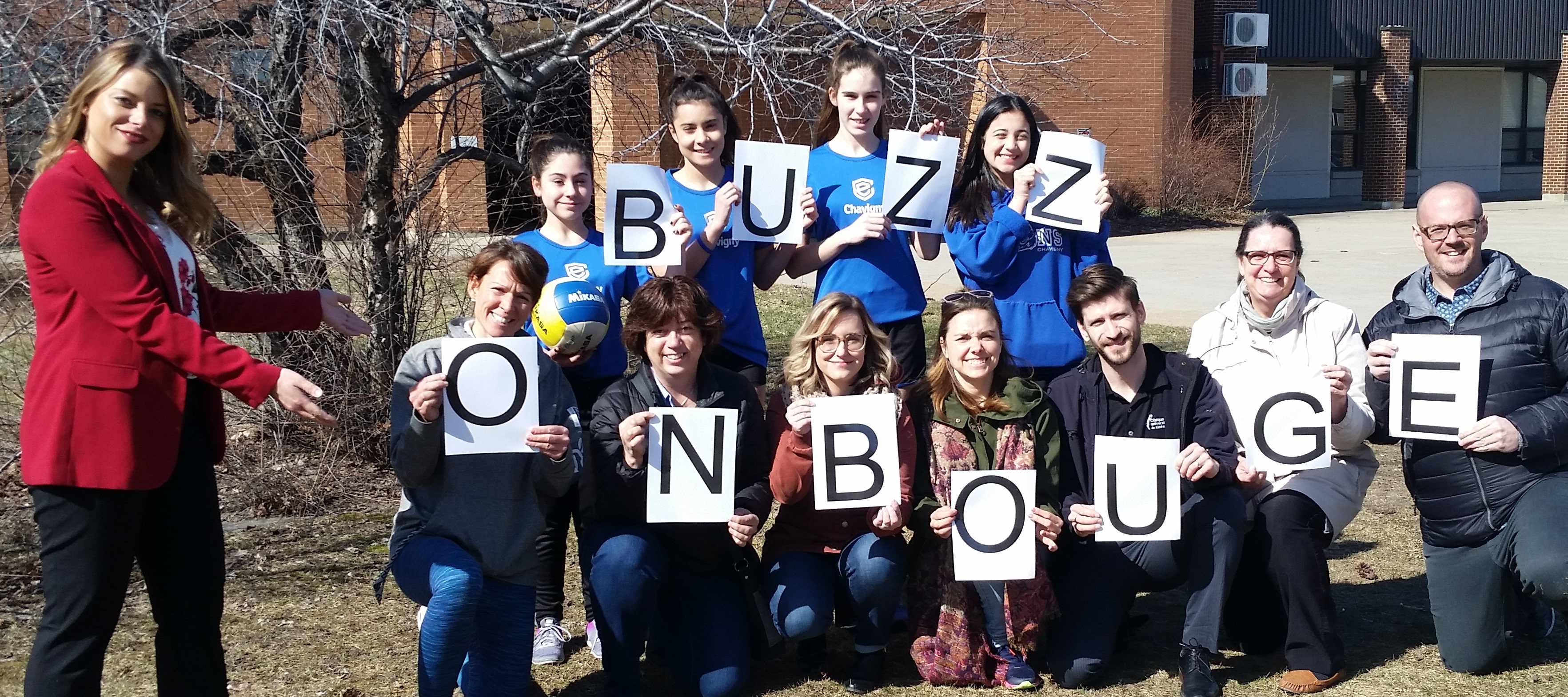 BUZZ on bouge: 15 minutes pour bouger dehors