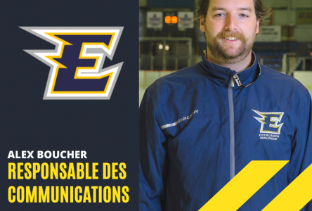 Estacades: Alex Boucher devient responsable des communications
